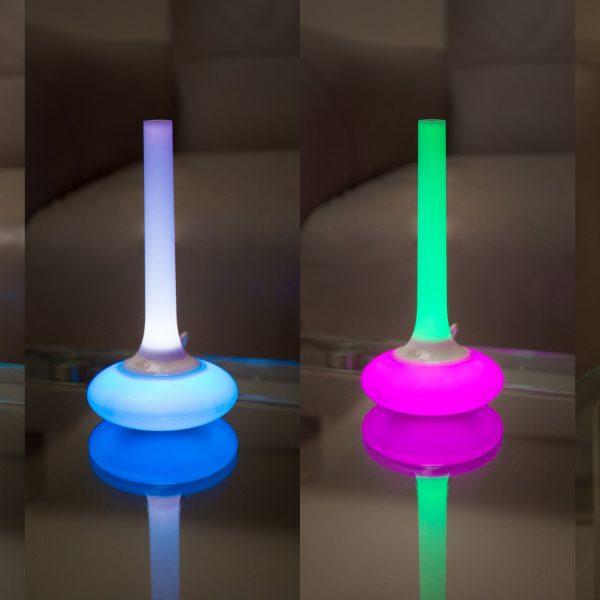 Lampe 4-en-1 - Mode arc-en-ciel pour un intérieur chaleureux