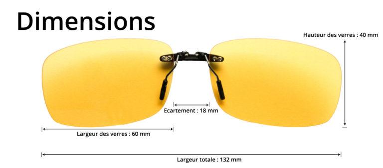 dimensions clip anti lumiere bleue