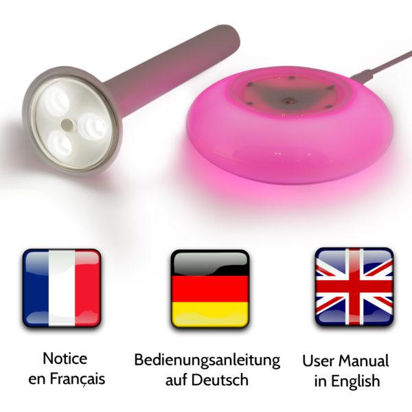 Lampe 4-en-1 - Notice en Français