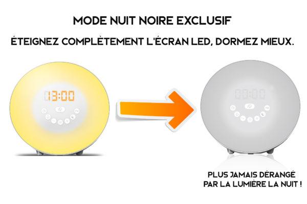 Trois fonctions SURPRENANTES de ce réveil lumineux simulateur d'aube