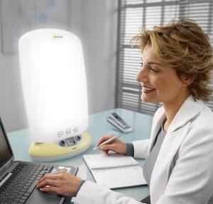 Simulateur d'aube et luminothérapie