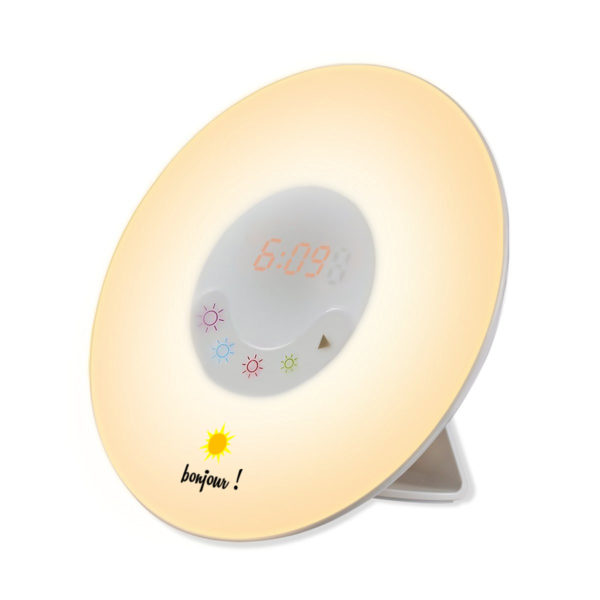 Réveil lumienux design et pas cher