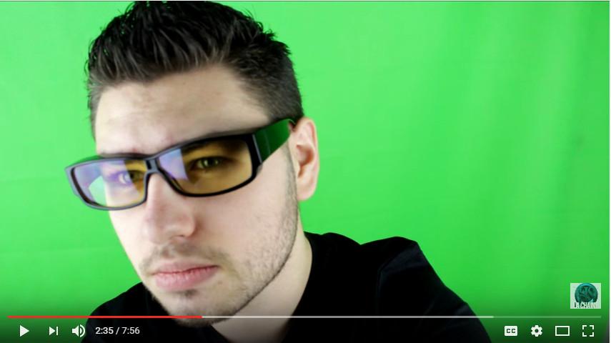 lunettes ordinateur gamer