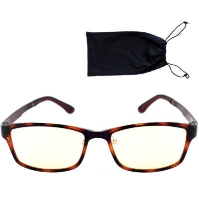 lunettes pour écrans monture ecaille élégante