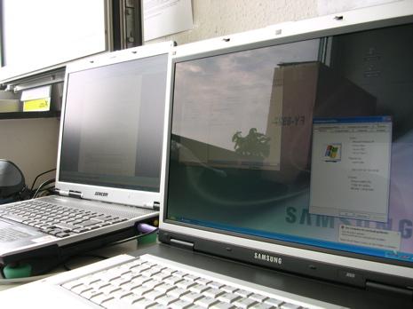 reflets ecrans ordinateur
