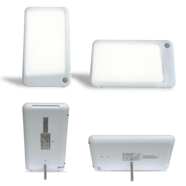 lampe luminothérapie horizontale et verticale
