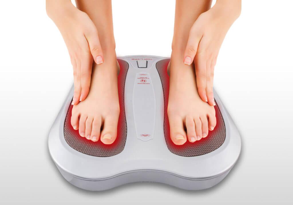 appareil-massage-pieds-gris-vue-face