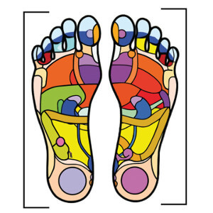 pieds reflexologie bienfaits