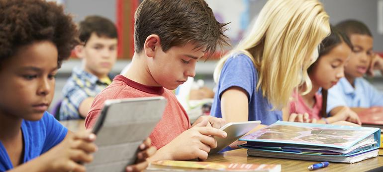 lunettes écran ordinateur enfants