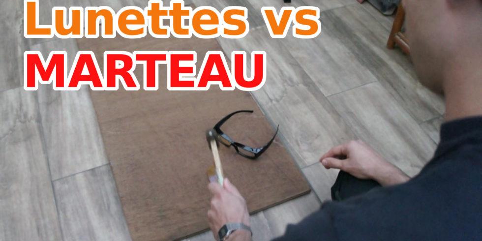 Lunettes pour ordinateur vs marteau